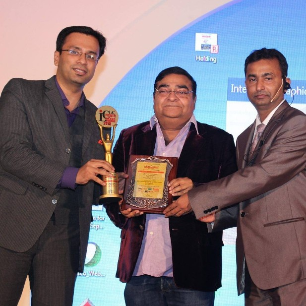 "Dr. Debraj Shome was awarded As ""India's Most Promising Face In Facial Plastic Surgery Innovations"" At India Leadership Conclave POWER BRAND 2015"